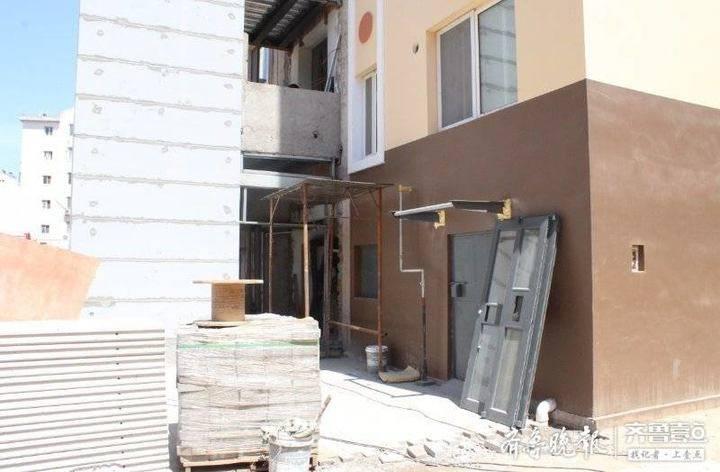 住的老楼竟然也装上了电梯!胶州老旧小区改造进展顺利
