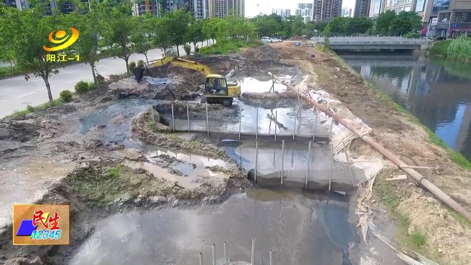 """新阳河工程:""""一船一管""""河道清淤见实效"""