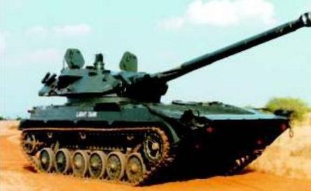 印度此前在BMP-2步兵戰車基礎上研製了輕型坦克