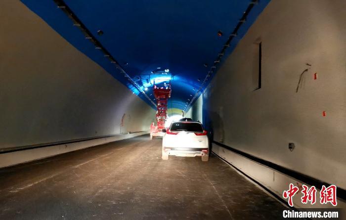 天龙山隧道。 晋源区新闻中心供图