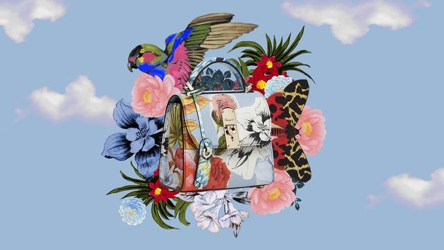 Salvatore Ferragamo 丝绸印花胶囊系列