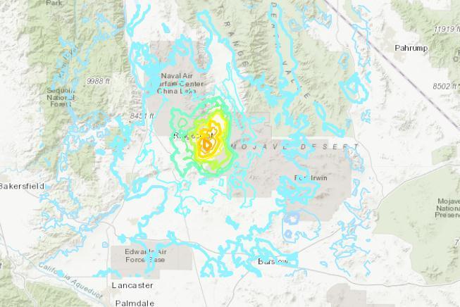 美加州发生5.5级地震 研究曾称当地断层或可产生大震