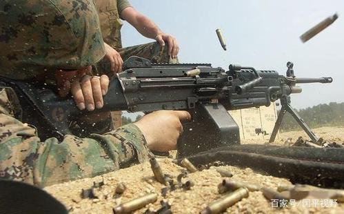 M249班用自动武器机枪:装备美军步兵班,我军没有类似的机枪