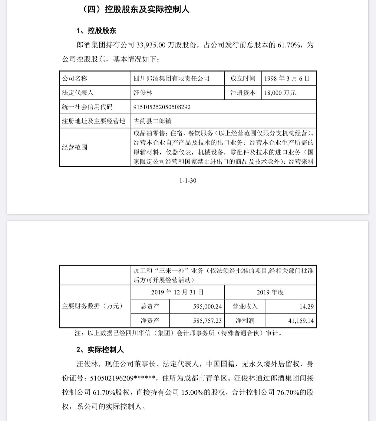 【摩天注册】募资超74亿汪俊摩天注册林控制超七成股图片