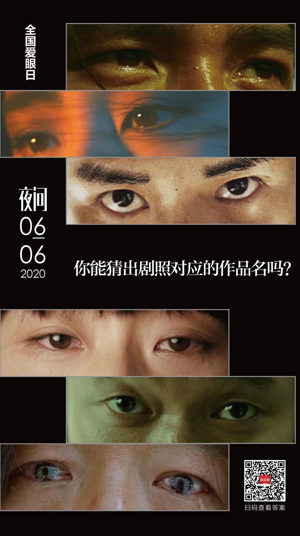 你知道这些眼睛里的故事吗?丨夜问图片