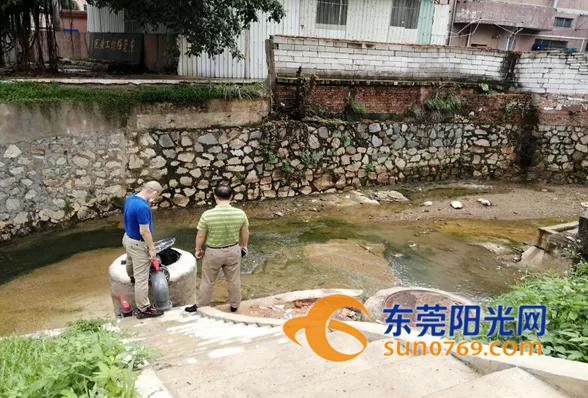 """环保部门与""""龙舟水""""较量保石马河水质稳定达标"""