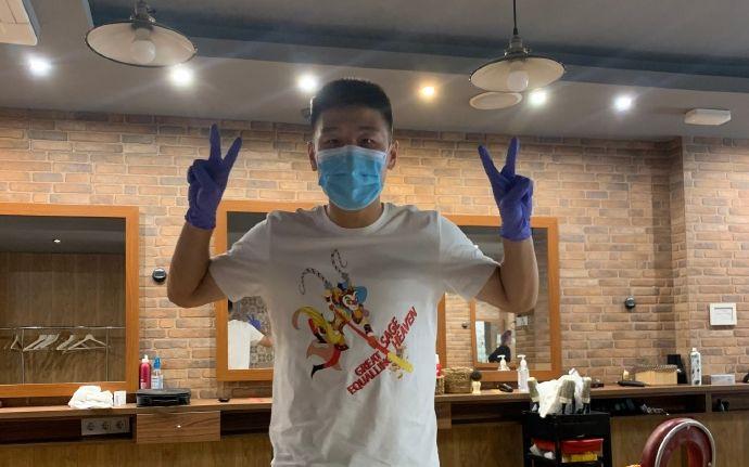 谈到当初感染新冠肺炎,武磊仍心有余悸。图/社交媒体
