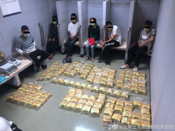 云南破获特大贩毒案:缴获冰毒139公斤13人被抓图片