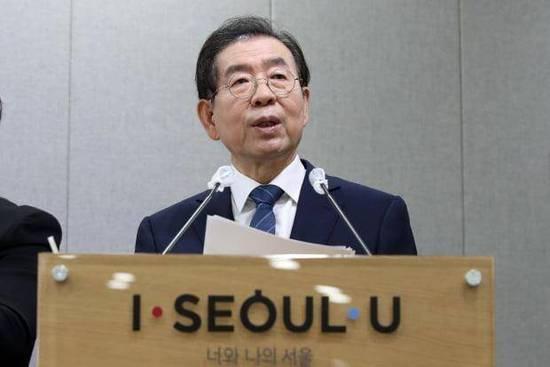 首尔市长朴元淳身亡 生前被公布身负6.9亿韩元巨债