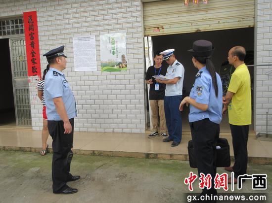 柳州消防联合多部门开展自建房、出租屋火灾隐患排查整治