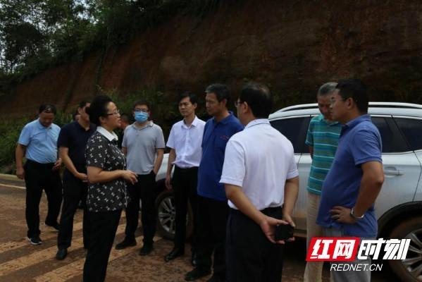 应急管理部来湘西州督导防汛救灾工作