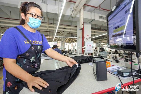 晋江纺织服装行业比增3.2% 上半年首次实现转正