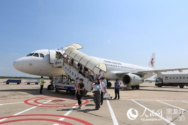 哈尔滨机场开通上海虹桥直飞航线