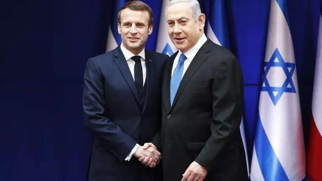法国总统马克龙要求以色列放弃任何吞并巴勒斯坦领土的计划