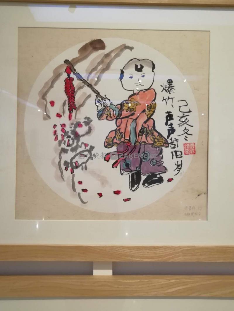 石家庄市美术馆有少年儿童美术作品展