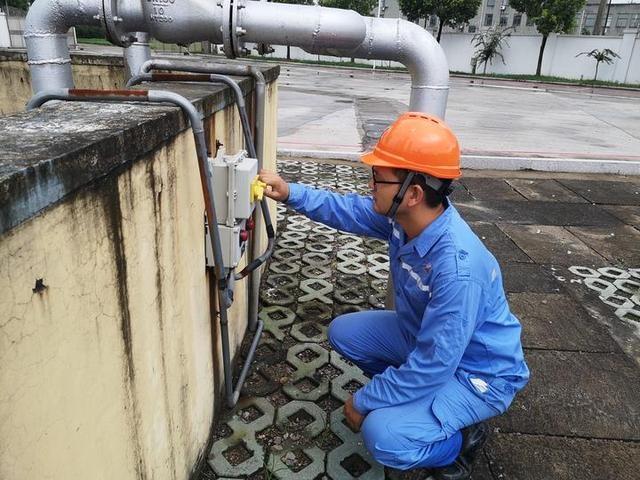 上虞天然气公司开展专项检查筑牢防汛战线