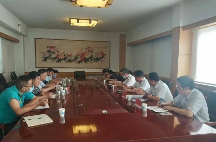 山东健康肉入沪座谈会在山东省畜牧兽医局会议室召开