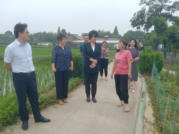 南京市妇联来淳调研妇女微家示范基地建设