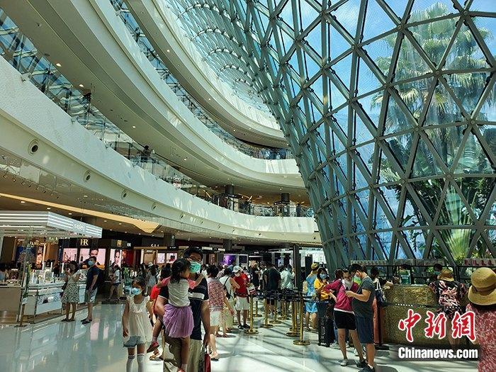 海南离岛免税新政首周:购物总额4.5亿元 免税6571万元图片