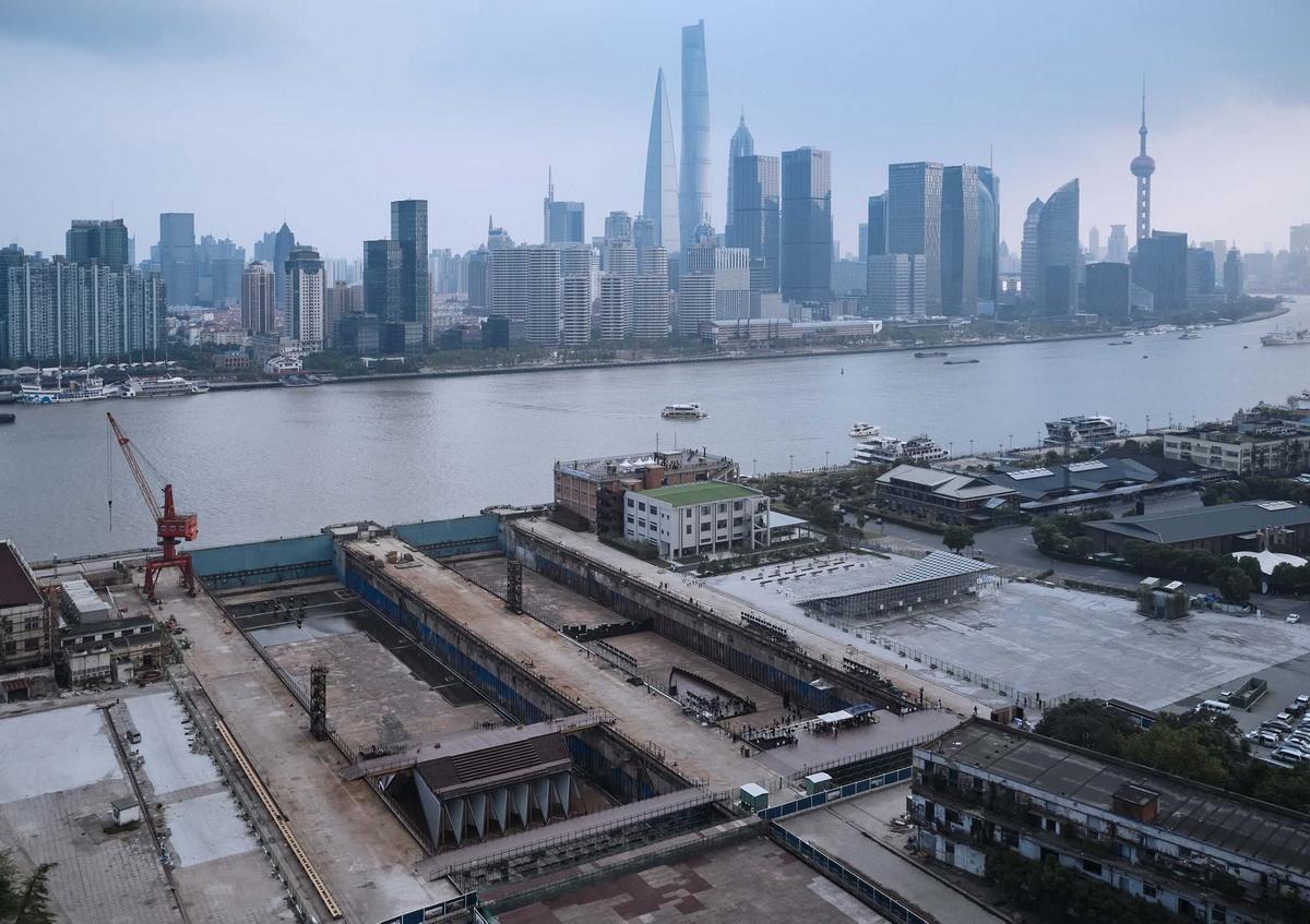2019上海城市空间艺术季主展场入口安检棚 / 同济原作设计工作室