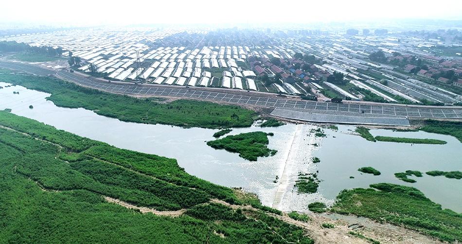 【杏悦】河防洪工程竣工中杏悦国蔬菜之乡图片