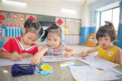 """两""""降""""一""""升"""" 海口学前教育走进普惠时代"""