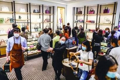 """上海""""五五购物节""""线上线下销售额5397亿元"""