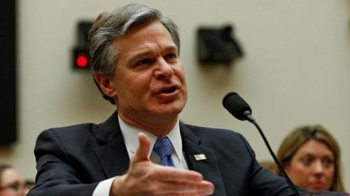 英媒:美国FBI局长大肆渲染中国威胁 但承认中美经济脱钩不可能