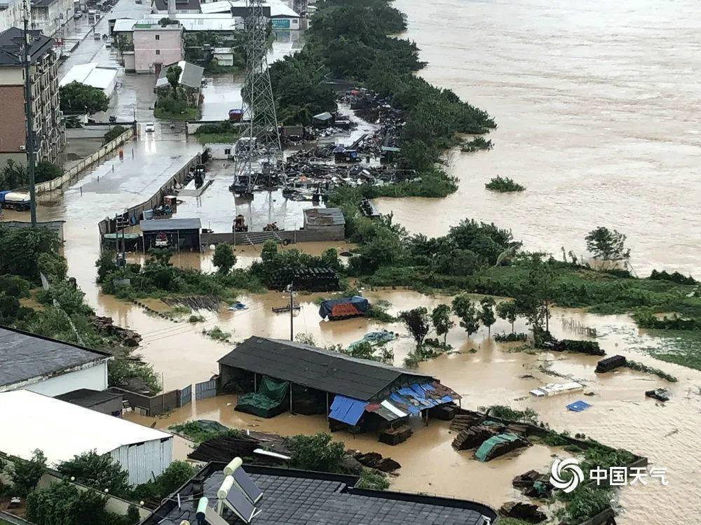 九省份局部有大到暴雨
