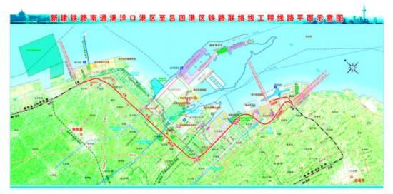 南通洋吕铁路项目工程可行性研究获批
