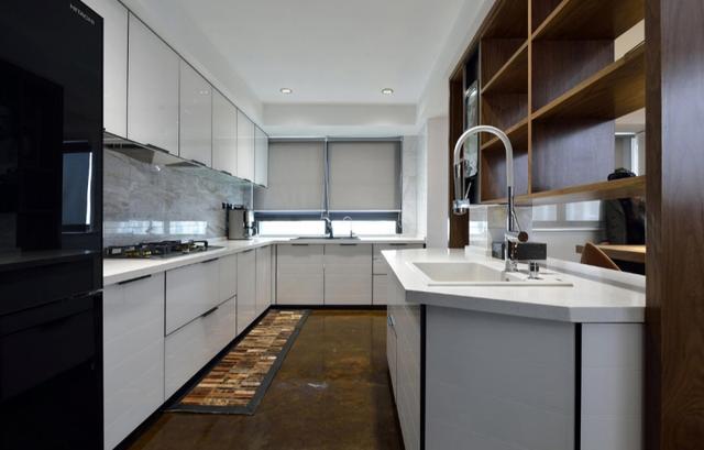 150平米的房子这样装修面积大了1倍,装修只花17万元!-怀德峰景南园装修
