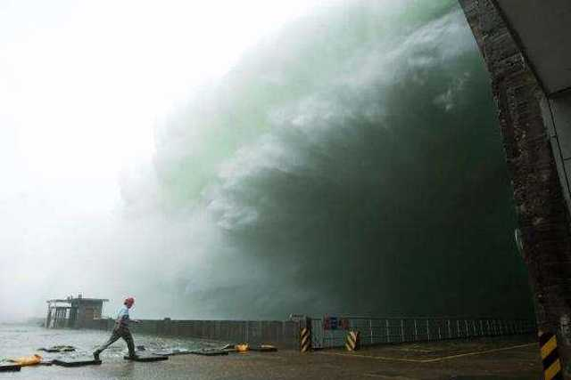 长江太湖淮河流域降雨持续 11省份130条河流超警图片