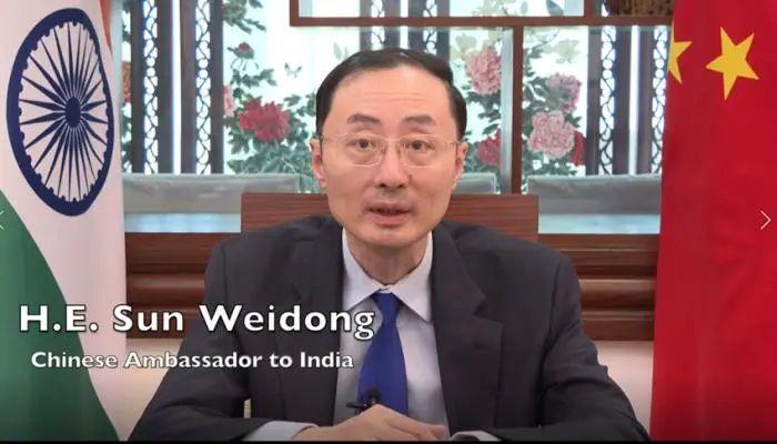驻印大使谈边界冲突:为什么要做亲者痛仇者快的事?图片