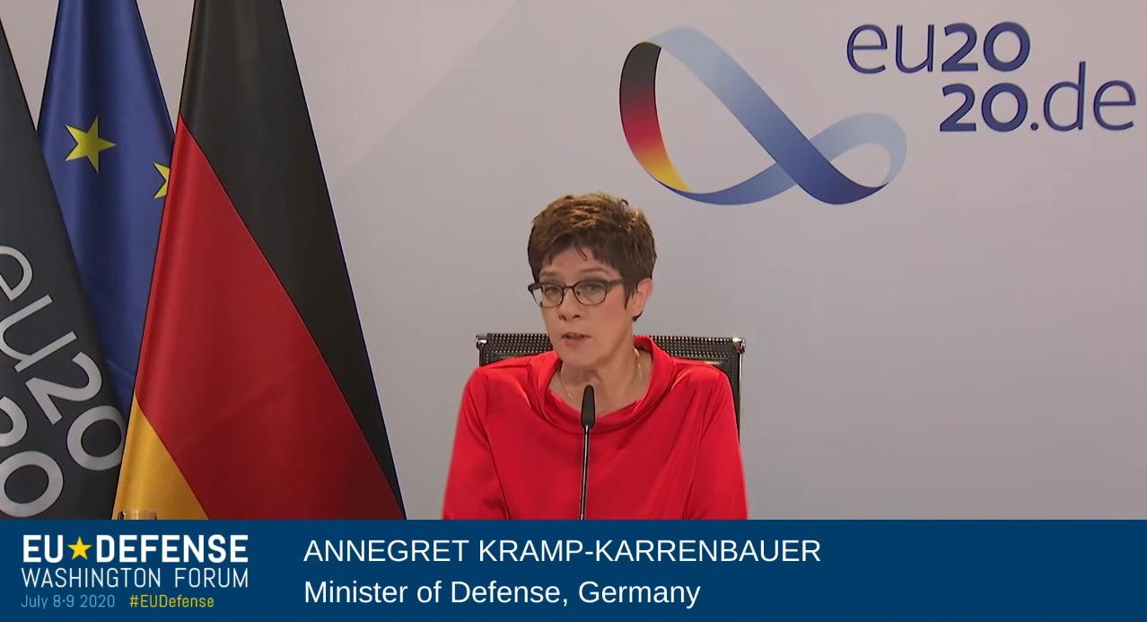 德国国防部长:猛批中国是自嗨行为 德国不跟