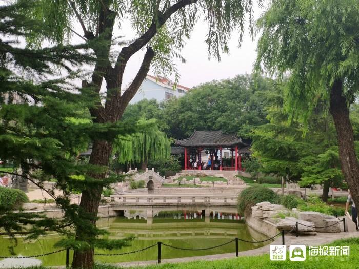夏日来临 广饶博物馆游园成休闲娱乐好去处