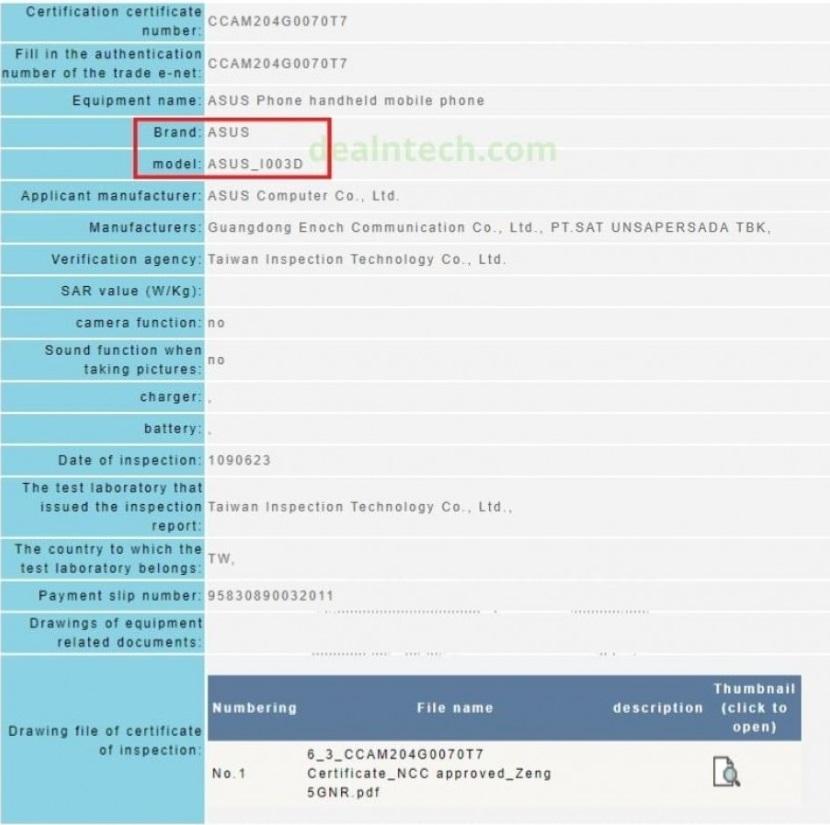 华硕ROG游戏手机3通过NCC认证:6000mAh电池+512GB存储