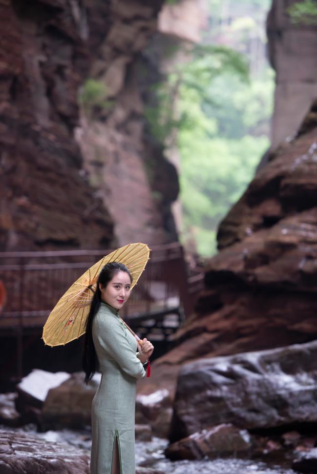 2020年7月11日龙潭大峡谷第三届浪漫泼水节——盛大开泼!