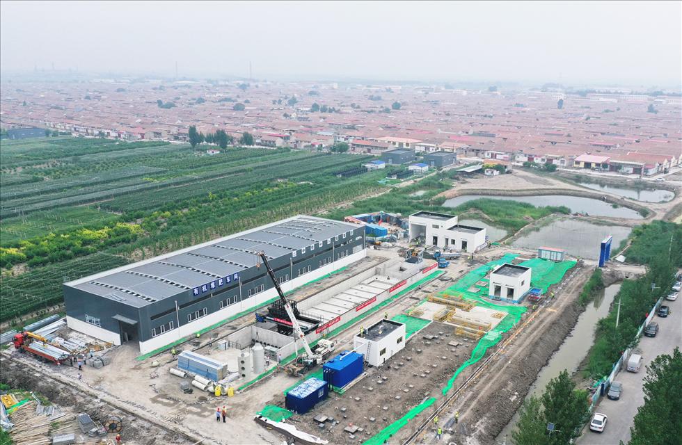 京津冀地区最大规模农村真空污水处理系统建成