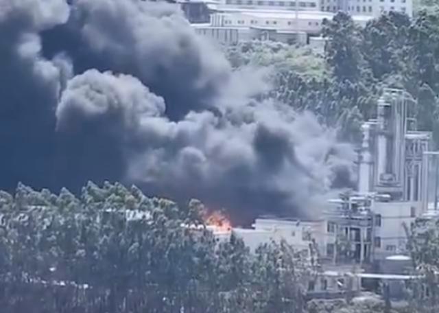"""福建龙岩一新能源公司起火,该公司被誉为""""科创板生物柴油第一股"""""""