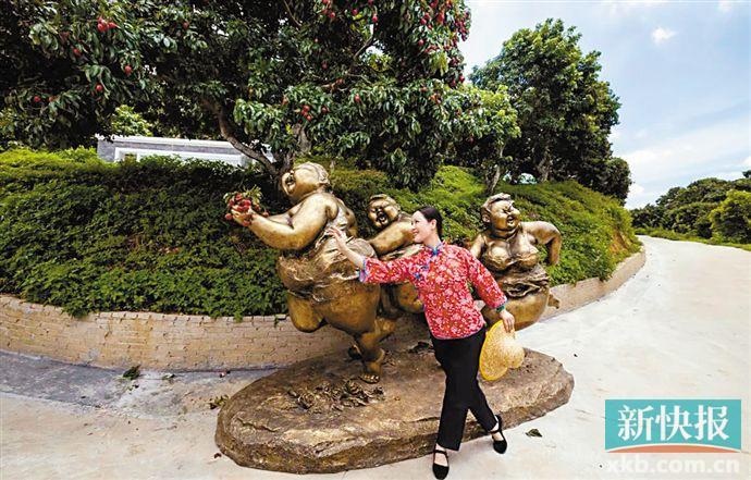 许鸿飞雕塑艺术百村展第四站在增城仙村举行
