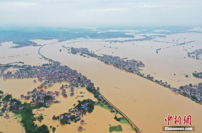 南方多地防汛形势严峻