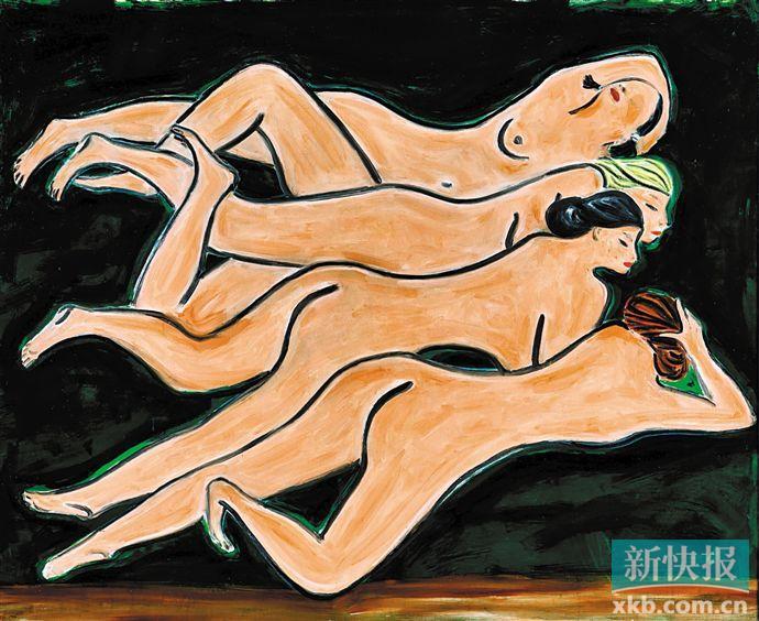香港苏富比现当代艺术板块 晚拍共计斩获14.21亿港元