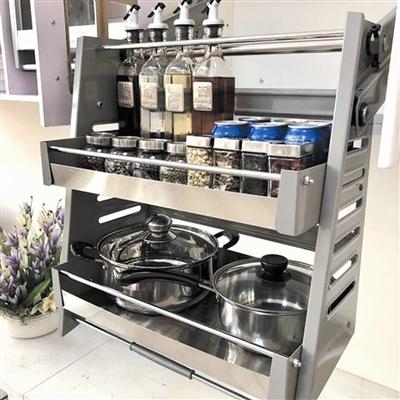 装好这些五金小厨房也能有大收纳!