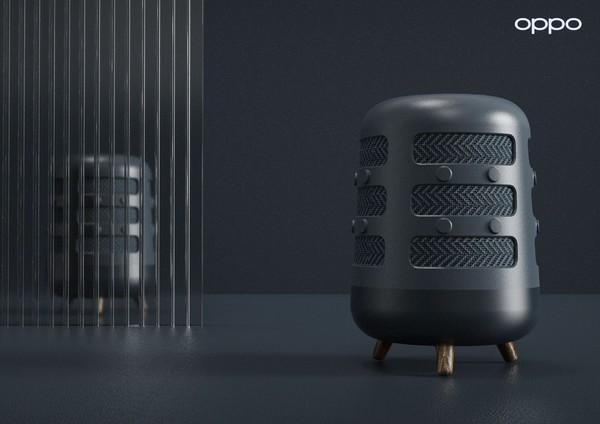 编钟造型的音箱?OPPO智能音箱曝光搭载AI智能技术