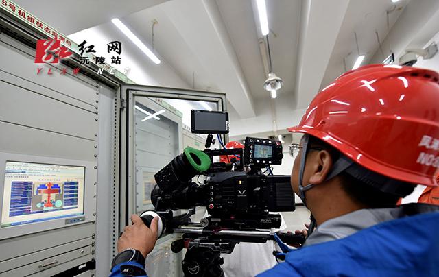 央视《北斗》纪录片摄制组到凤滩取景