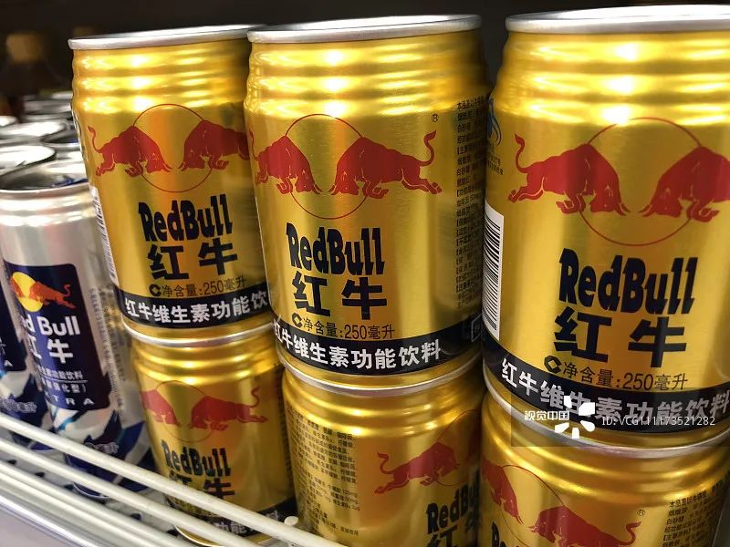 中国红牛在功能饮料市场上有爆炸性的增