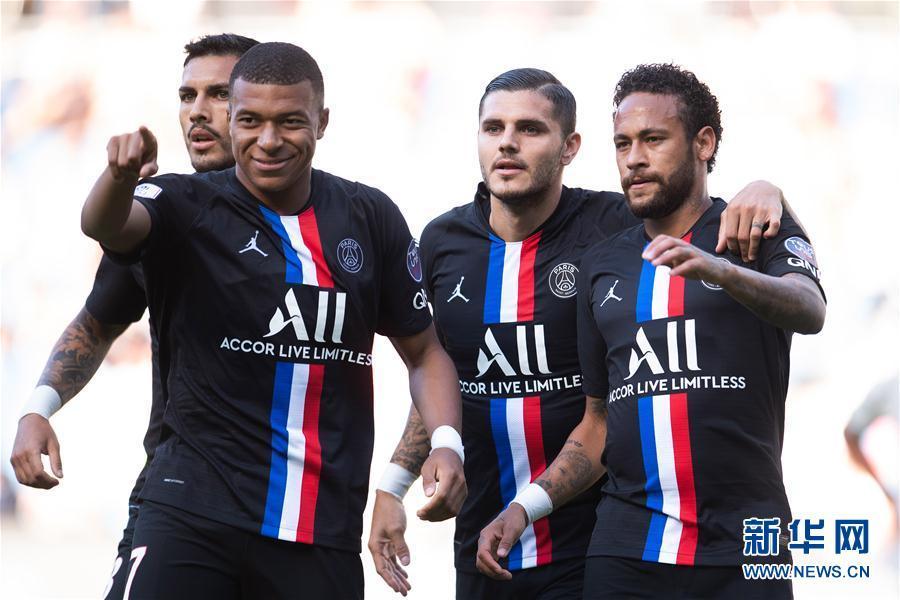 友谊赛:巴黎圣日耳曼胜勒阿弗尔