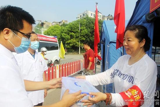 黄石市中医医院:成立防汛巡回医疗队  力保一线人员安康
