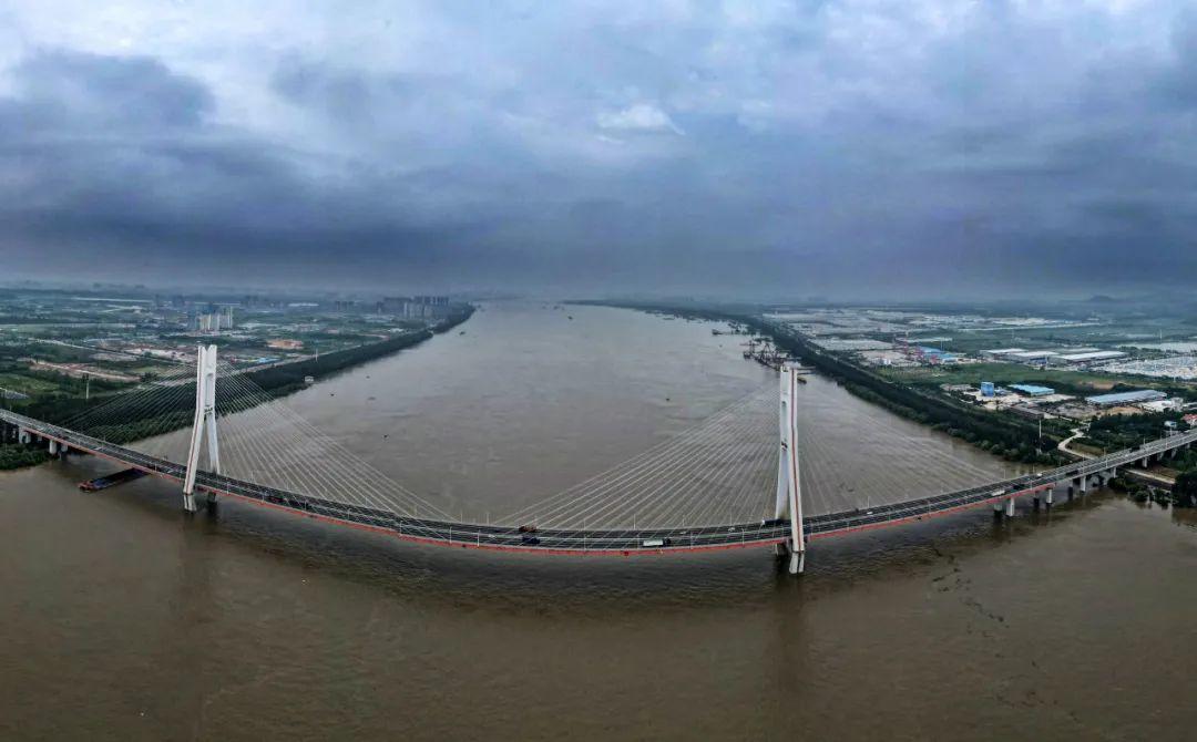 📍武汉汉南区军山长江大桥