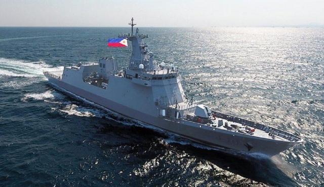 菲律宾首艘导弹护卫舰服役,计划出战环太军演,却不幸染上新冠